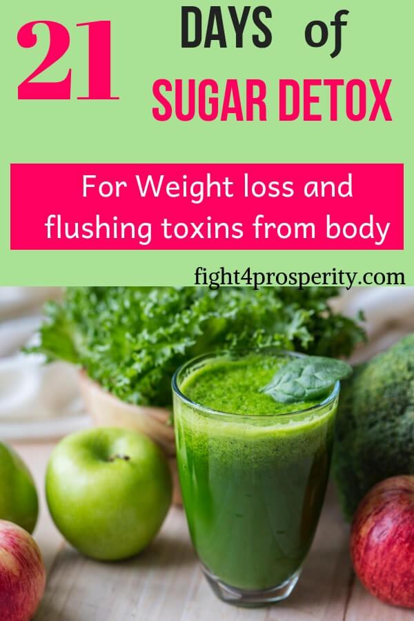 sugar detox/sugar cleanse