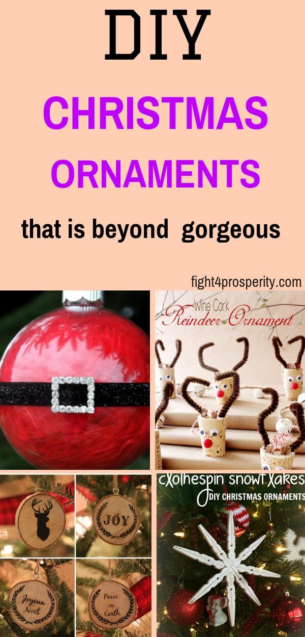 DIY Christmas Ornament/ Handmade christmas ornament