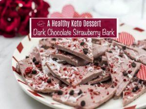 Keto dessert/valentine's day keto dessert/ low carb dessert