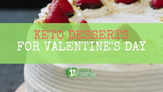 keto dessert for valentine's day