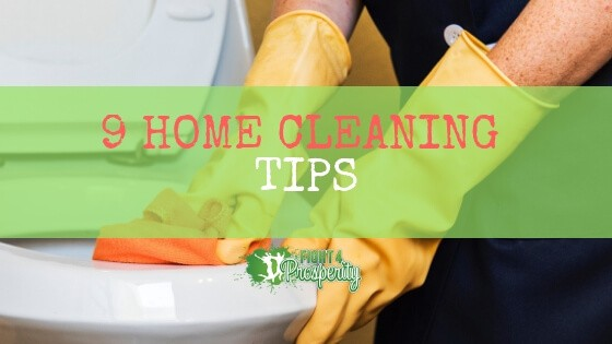 home cleaning tips/spring cleaning tips