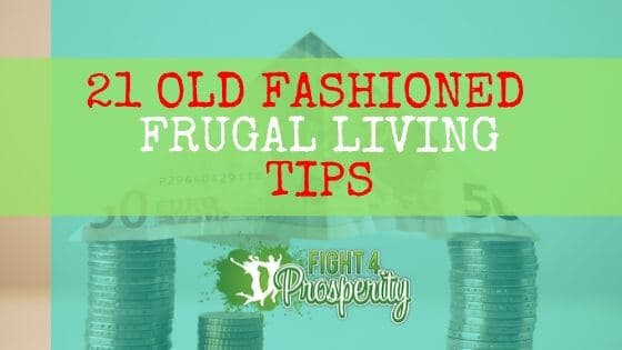 frugal living from the great depression