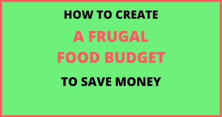 frugal food budget