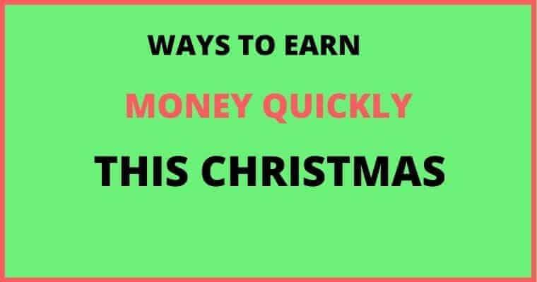 make money this christmas