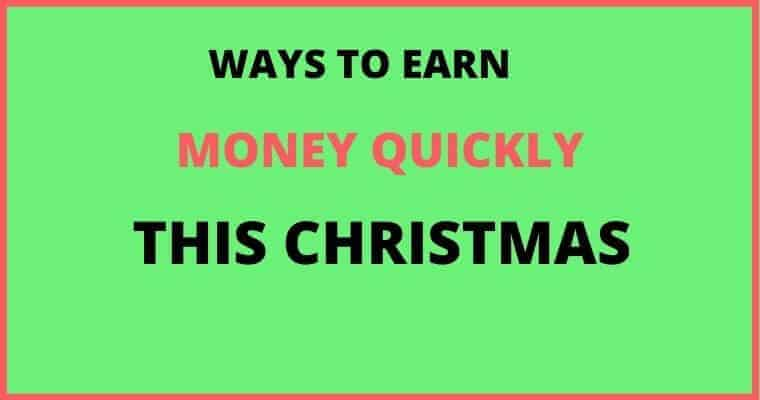 make money this christmas
